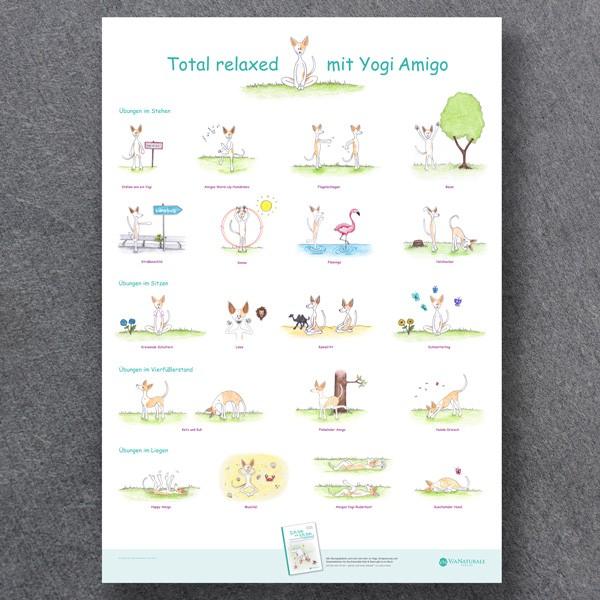 """Poster """"Yogi Amigo"""""""